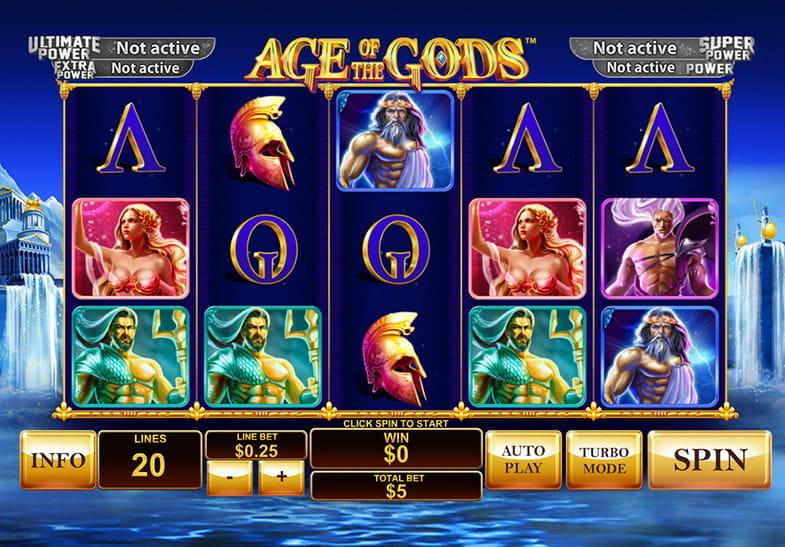Age of the Gods: slot de Playtech