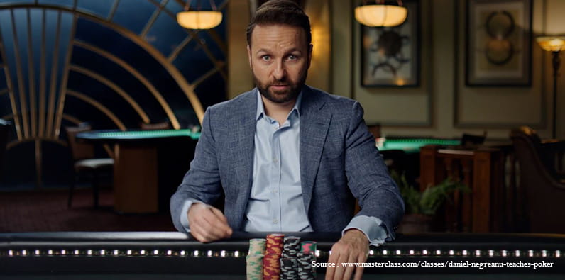 Saran Daniel Negreanu tentang turnamen poker