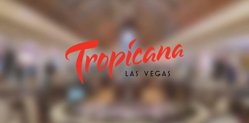 Logo Hotel dan Kasino Tropicana Las Vegas