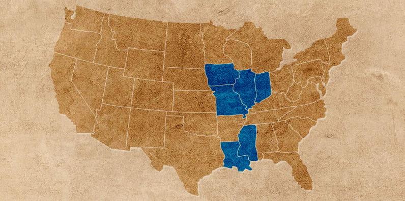 Situación legal de los barcos casinos en EE. UU. por estados