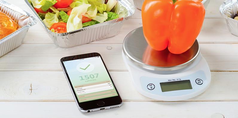 Apostar para perder peso a través de una aplicación